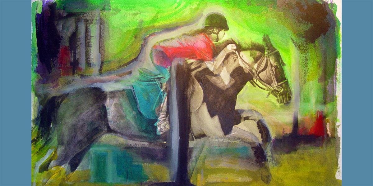 """Mara & Joker"" - Watercolor by Daniel C. Palmer"