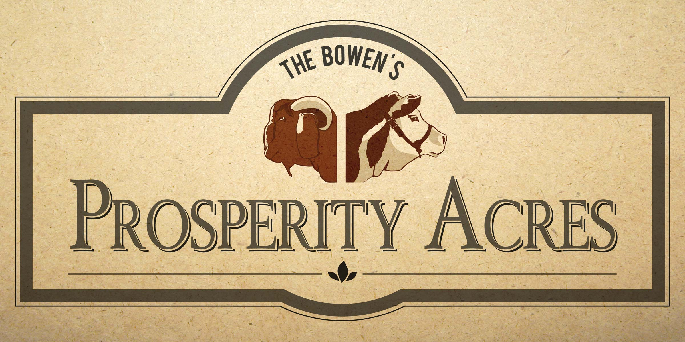 DCP Design - Prosperity Acres Branding
