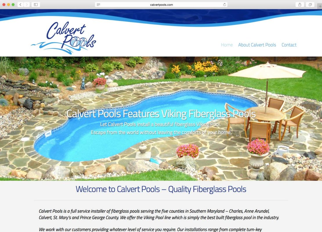 DCP Website - Calvert Pools