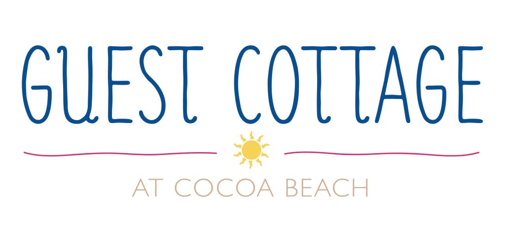 Guest Cottage Cocoa Beach, FL Branding Logo