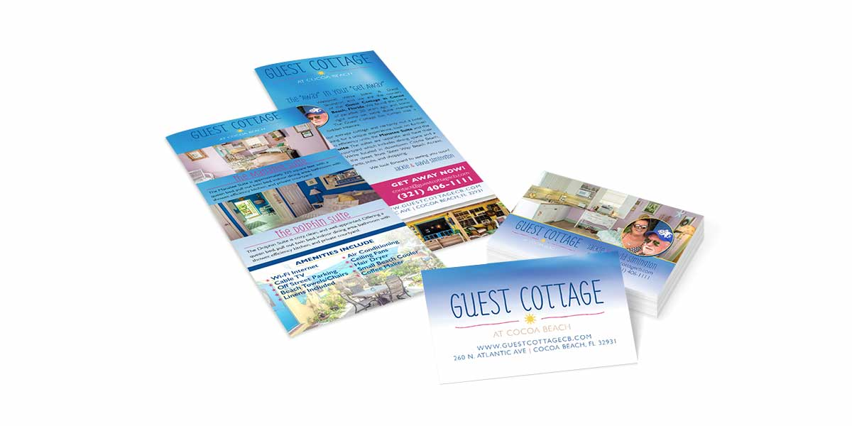 Guest Cottage Cocoa Beach, FL Marketing Material