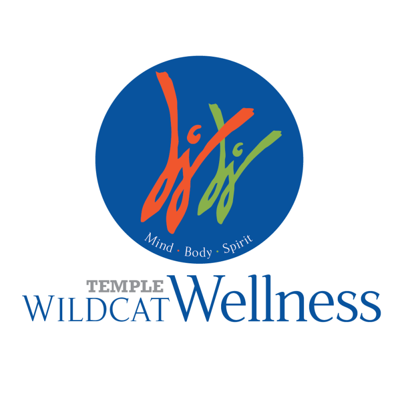 Temple Wildcat Wellness Program Logo